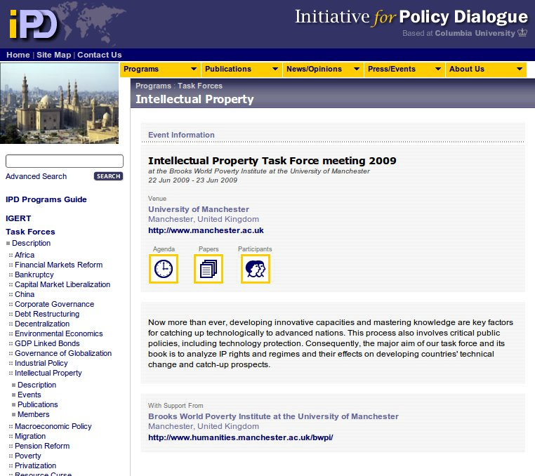 Institute for Policy Dialogue