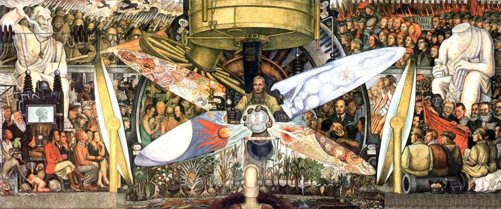 "Diego Rivera, ""Man at the Crossroads"" (1934)"