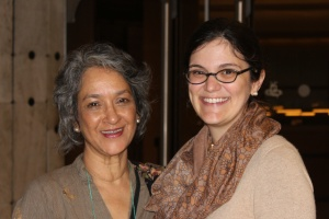 Farida Shaheed and Lea Shaver.